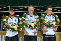 Driemaal scheepsrecht voor trio Marten Bergsma