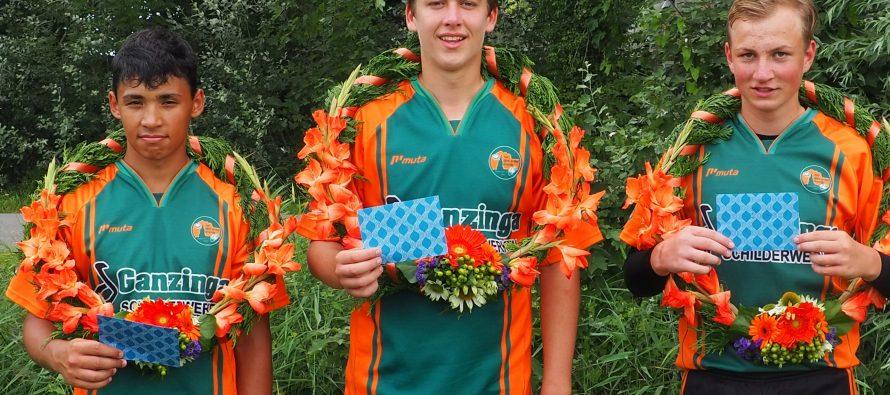 Jongens Dronryp winnen afdelingswedstrijd in Raerd
