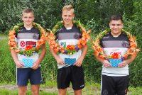 Partuur Verry van der Meer wint wedtrijd d.e.l. in Raerd.