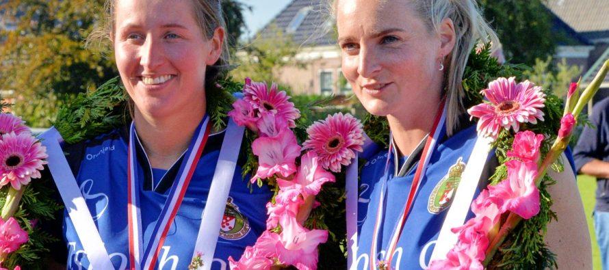 Margriet Bakker en Ilse Tuinenga gedeelt eerste in jaarklassement dames hoofdklasse 2020